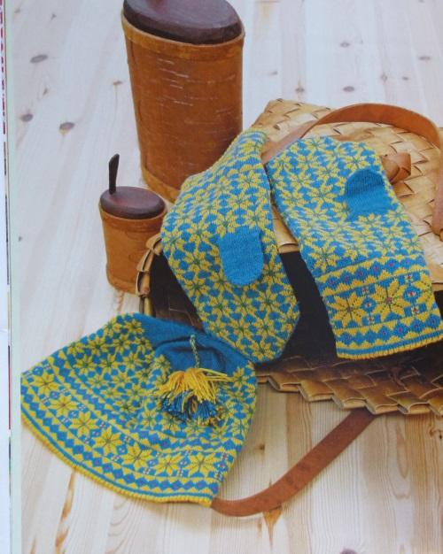 Sunnhordland Mütze und Handschuhe