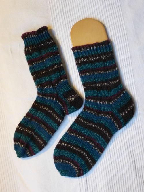6fach Socken Dezember 2013